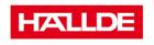 HALLDE logo